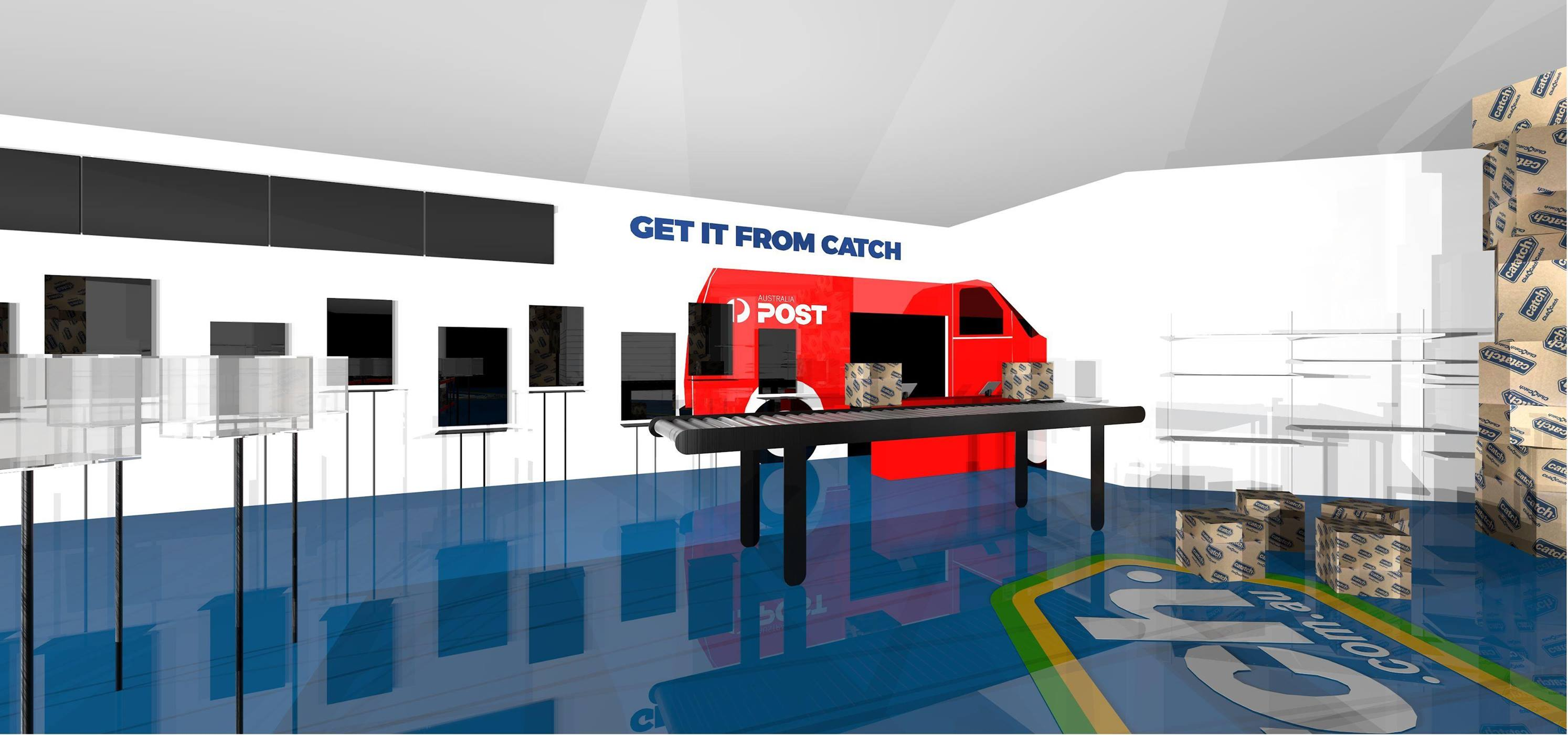 Catch Group Pop-up Shop Design for Chadstone Shopping Centre