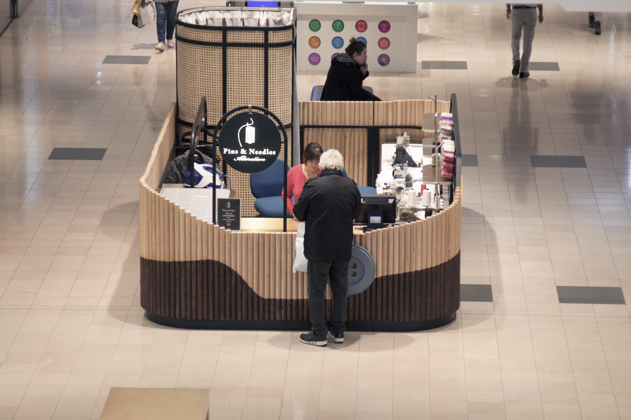 alteration kiosk design and build centre square