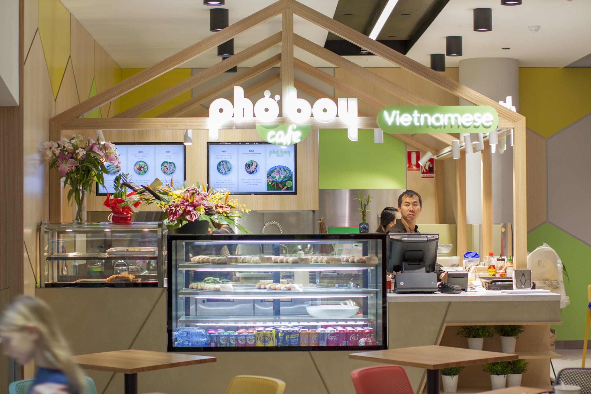 Cafe design and fit-out